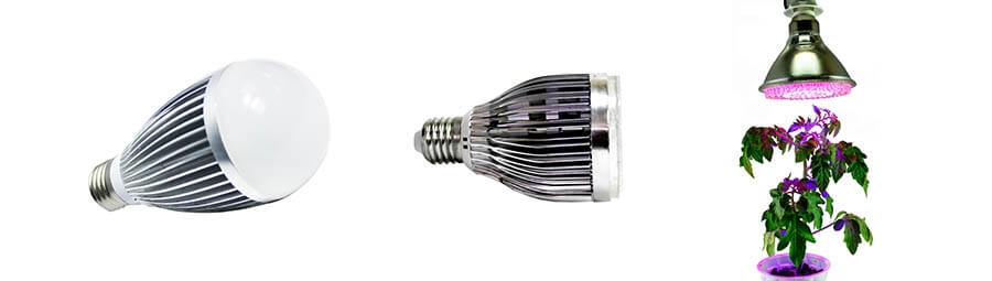 Светодиодная фитолампа Espada Fito LED E27-3W 85-265V