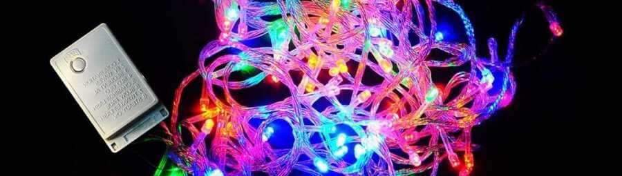 Светодиодные и лампочные гирлянды