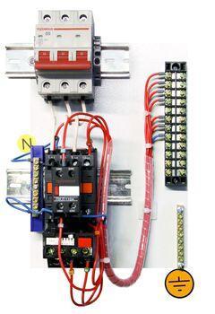 Блок управления АД с к/з ротором Б5130-3474-УХЛ4  IP00  Т.р.17-25А