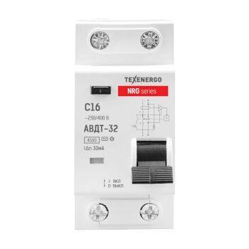 Диф. автомат АВДТ-32-NRG 2п 16А/30mA