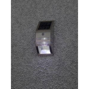 ЭРА Фасадный светильник Хром, на солнечной батарее, 3LED, 50lm (12/864)