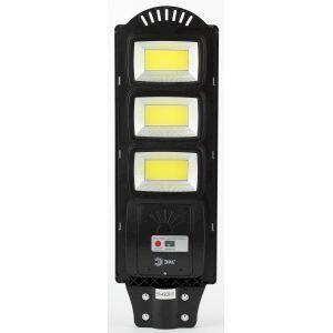 ЭРА Консольный светильник на солн. бат.,COB, 60W, с датч. движ., ПДУ, 1100lm, 5000К, IP65 (6/90)