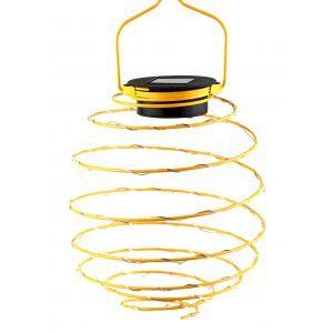 ERASF024-28 ЭРА Садовый подвесной светильник Спираль на солнечной батарее, 16 см (24/576)