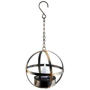 ERASFM-02 ЭРА Садовый светильник Лофт подвесной на цепи на солнечной батарее, металл, 28 см (18/180)