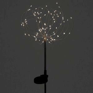 ERAUF024-01 ЭРА Садовый светильник Фейерверк на солнечной батарее (24/432)