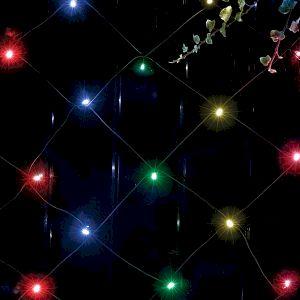 ERAUF024-16 ЭРА Сеть 150 LED на солнечной батарее мультиколор  2м*1,35м (24/432)