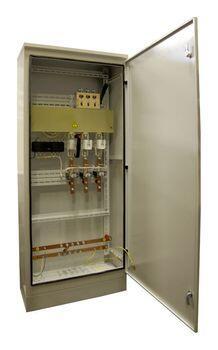 Инвентарное вводно-распределительное устройство ИВРУ-1-250 IP54  без э/счёт. , корпус1600х700(600)х300 мм  (ручка рубильника внутри корпуса)
