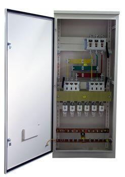 Инвентарное вводно-распределительное устройство ИВРУ-2-630 IP54      корпус 1700х700х400 мм  (ручка рубильника внутри корпуса)