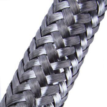 Кабельная оплетка CB-012 (12,0мм.) карбоновая черная