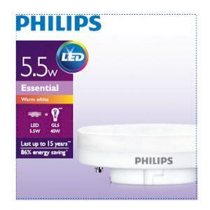Philips Essential LED 5.5-40W 2700K GX53 (10/2040)