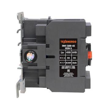 Пускатель магнитный ПМЛ 3100-40  230В  40А  1з+1р  УХЛ4 Б   Тexenergo