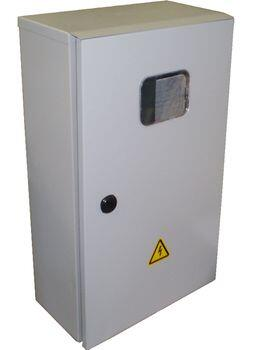 Шкаф учета ШУ- 1     IP54 (без э/счетчика,    ВА  3п 50А С 4,5кА) корпус ЩУРн-3/12зо