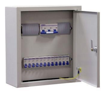 Щиток освещения ОЩВ-  12 (100А+12х25А)  IP31   без разводки