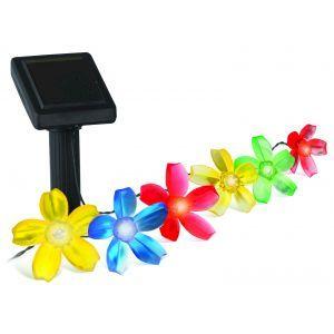 SL-PL400-FLW10 ЭРА Садовый светильник на солнечной батарее, пластик, цветной, черный, длина 400 см (