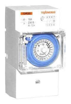 ТЭМ181 таймер аналоговый  на DIN-рейку