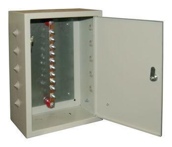 Ящик ГЗШ21 - 10 - 340А (медь 3х25 до 340 Ампер )  10 присоединений - IP31 Texenergo