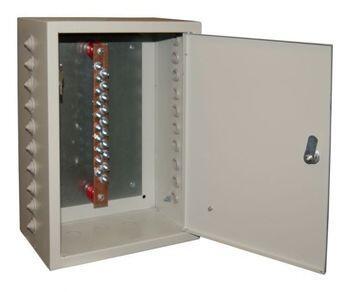Ящик ГЗШ21 - 20 - 340А (медь 3х30 до 340 Ампер )  20 присоединений - IP54 Texenergo