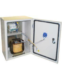 Ящик с понижающим трансформатором ЯТПО-3550-54  (ОСО-0,25)    220/24В  IP54  Texenergo