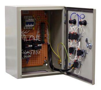 Ящик управления АД с к/з ротором РУСМ 5411-2074 У2     Т.р. 0,63-1А, АД 0,25 кВт