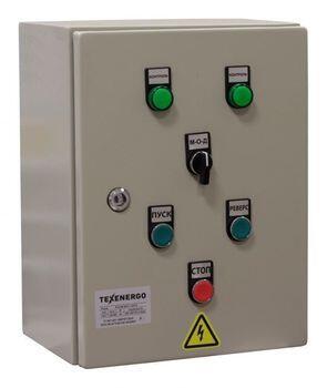 Ящик управления АД с к/з ротором РУСМ 5443-1974 У2     Т.р. 0,63-1А, АД 0,25 кВт