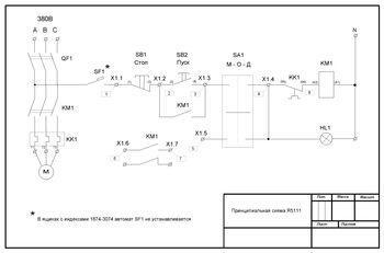 Ящик управления АД с к/з ротором Я 5111-2974    УХЛ4          Т.р.5,5-8А         3 кВт
