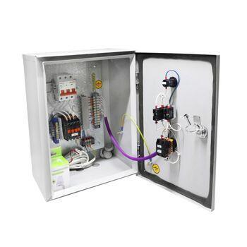 Ящик управления освещением ЯУО-9602-3574 IP54 (32А, ФР)