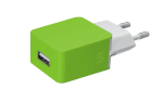 20146 Trust UR SMRTPH WALL CHARGER -LIME (100/1200)