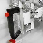Шкаф распределительный ШР11-73504-54У3   (ВР32-37 вык-ль, гр.8х63А) рукоятка внутри (комплект Техэнерго)