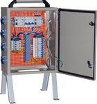 Щит механизации ЩМ- РУСП- 100-4х1П-3х3П IP54 (ВВ-100А с  УЗО, 4 роз. 1Р+N+РЕ 16A, 3 роз.  3Р+N+PE 32А)